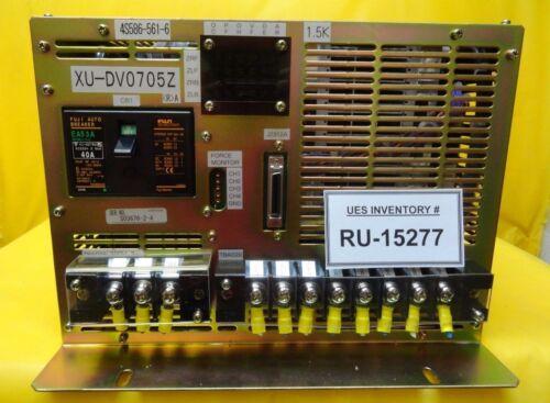 Yaskawa XU-DV0705Z Linear Motor Controller 4S586-561-6 Nikon NSR-S204B Used