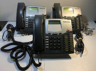 Used, Lot of 3 Inter-Tel Model 8520 Telephone Business Office Phones With Line Cord for sale  Shipping to South Africa