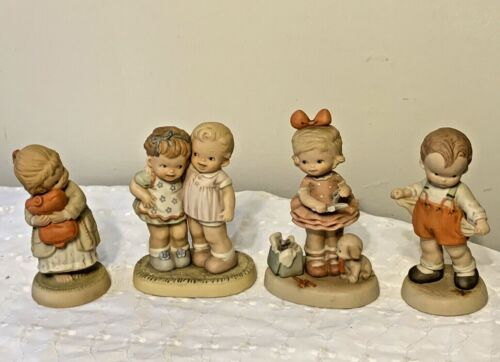 Memories Of Yesterday Collectible Figurines Lot Of 4