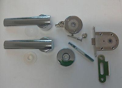 Toilet Door Handle & Mechanism Latch Lock Elddis Compass Caravan Motorhome TDL9