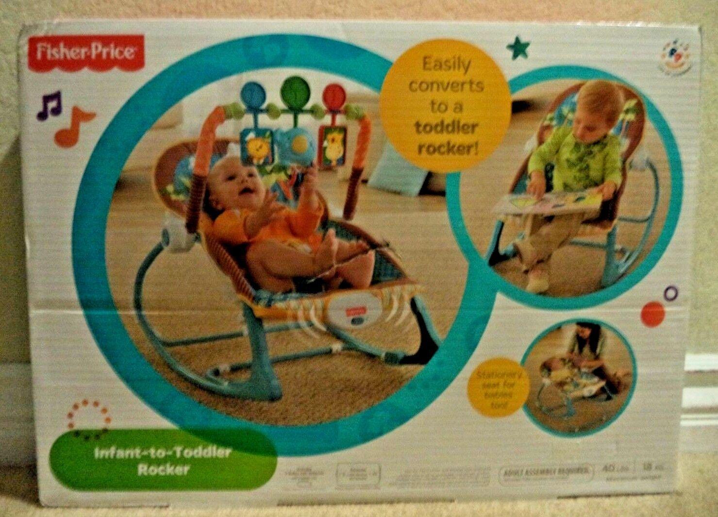 Fisher-Price Infant-to-Toddler Rocker, Jungle Fun