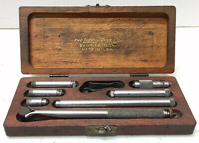 Lufkin No. 680 - Inside Micrometer With Protective Case - Starrett
