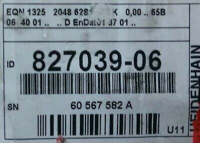 Rotary Encoder 827039-06 Eqn1325 2048 Eqn 1325 2048 62s12-78 827 039 06
