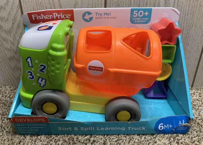 Fisher-Price Sort & Spill Learning Truck.