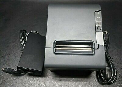 Epson Tm-t88v 324 M244a Usb Thermal Receipt Printer W Ps-180 Supply
