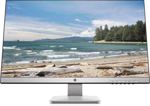 "HP 27q 27"" LED QHD 2560 x 1440 2K Monitor Display 2ms Response 350 bits Silver"