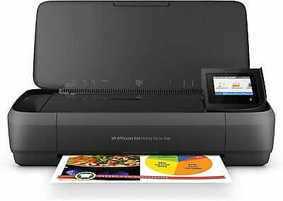 HP OfficeJet 250 Portable Printer with Wireless and Mobile Printing (CZ992A)