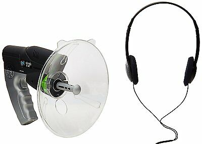 Parabolic Microphone Spy Listening Device Bionic Ear Sound Amplifier Gadget 300m
