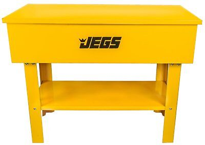 JEGS 40 Gallon Parts Washer With 24 Gallon Solvent Capacity & Electric (Gallons Electric Parts Washer)