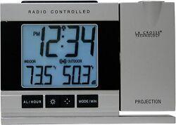 Projection Alarm Clock with Indoor Outdoor Temperature Projector WT-5220U-IT