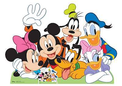 Mickey Mouse and Friends Lifesize and Mini Cardboard Cutout / Standup
