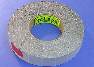 Clear Translucent Frosted 1 12 Wafer Seals 4000 Roll Clr15w 1 12 Round Seals