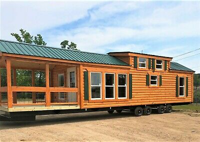 Cabin Tiny House Many Styles Movable Pre-fab For Your Propertylot Part. Furn.