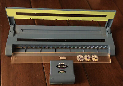 Carl Tozicle Binding System Punch And Binder