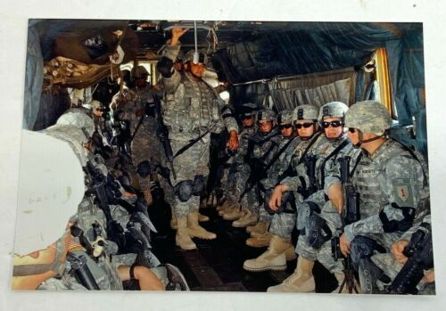 US Army Combat Troops Photo