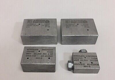 Parker Autoclave Elbow Fitting Lot Of 4 Asst. 2 Clx9900-k Ct4400 Ctx440