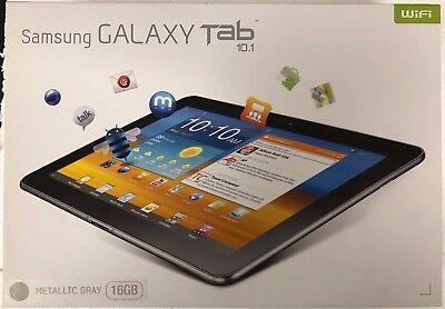 NEW SEALED Samsung Galaxy Tab GT-P7510 (2012) 16GB   Wi-Fi, 10.1  Metallic Gray