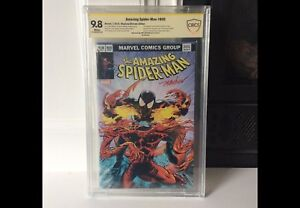 Selling Off A BEAUTIFUL CBCS Graded 9.8 Spidey 800 Variant