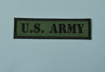 patch us army, militaire , military 9/2.5cm, broder et thermocollant
