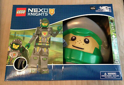LEGO NEXO KNIGHT AARON- BOYS COSTUME 4+ FITS 4-6 IN SIZE