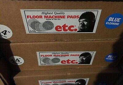 5 Etc Gorilla Cleaning Pads 24 Floor Machine 14 Blue