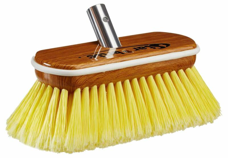 Star brite Synthetic Wood Brush - Soft - Yellow