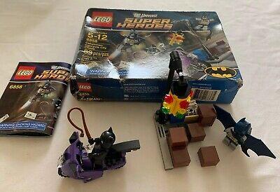 LEGO Cat woman Catcycle City Chase Batman DC Universe Super Heroes Set 6858 100%