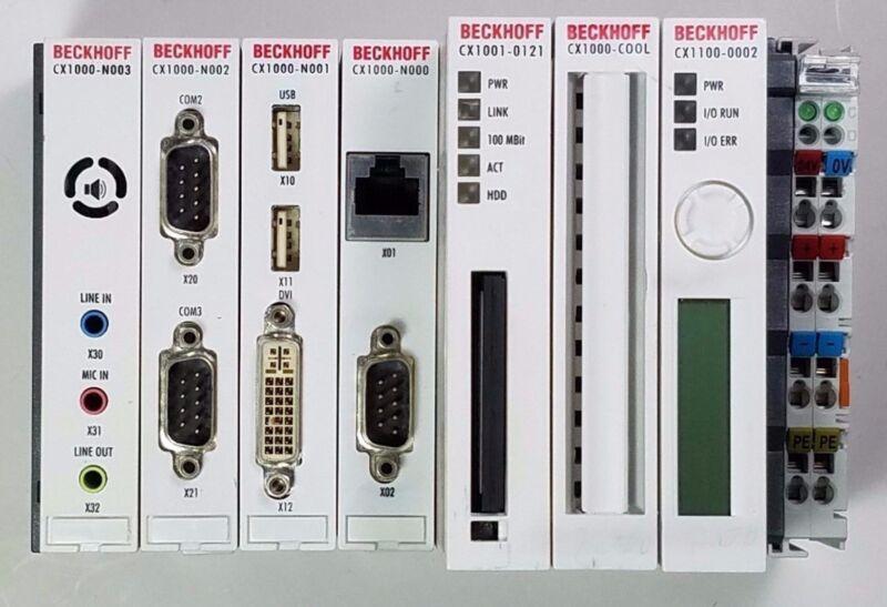 Beckhoff CX1001-0121 CX1000N003, CX1000-N002, CX1000-N001, CX1000-N000, CX1001-0