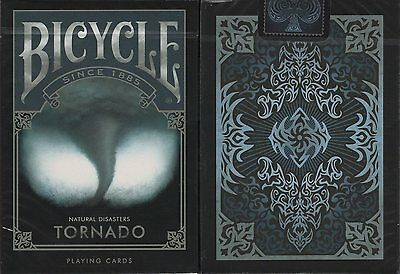 Tornado Bicycle Playing Cards Poker Size Deck USPCC Custom Limited Edition New