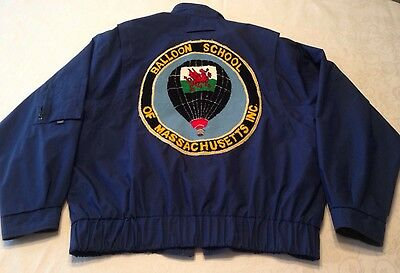 Balloon School of Massachusetts Logo London Fog Jacket L Dr Clayton Thomas