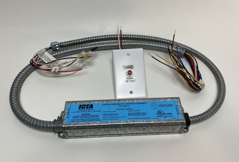 IOTA I-42-EM-A TBTS Compact Emergency Lighting Battery Pack Ballast