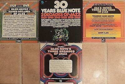 V.A. - 30 Years Blue Not 3 Decades of Jazz RARE BOX Jazz RARE