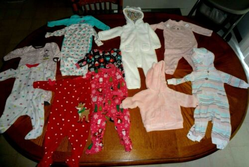 6 Month Baby Girl Lot of 11