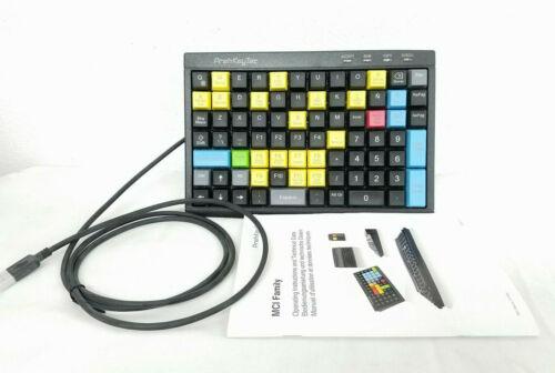 PrehKeyTec MCI 84 USB POS Keyboard Spanish Keys No Card Reader 90328861/1805 New