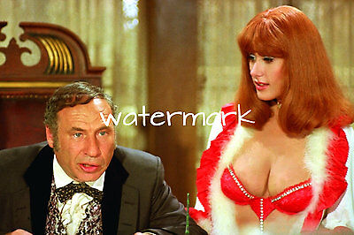 Robyn Hilton 4 X6  Super Busty With Mel Brooks Picture 4 X6  Photo Portrait N