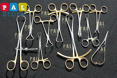 10pcs Set Of Orthopedic Surgical Veterinary Instruments Excellent Quality