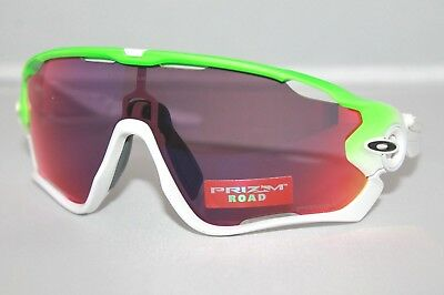 2bbd60537328e Oakley Jawbreaker Sunglasses OO9290-15 Green Fade Frame W  Prizm Road Lens