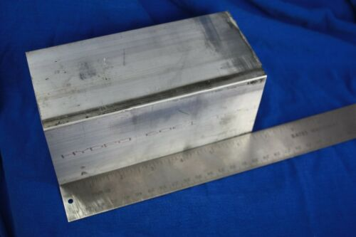 "3"" x 3"" x 6""+ 6061 T6 Aluminum square Bar Rectangle rod"