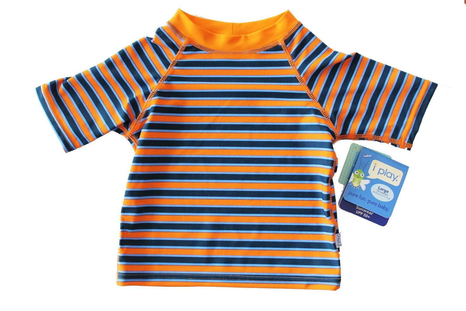 NEW Iplay I Play Baby Boy's Swim Swimming Shirt Rashguard 18
