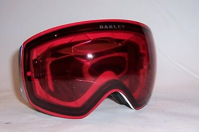 New Oakley SNOW GOGGLES FLIGHT DECK™ PRIZM™ OO7050 59-717 WHITE/ROSE 7050