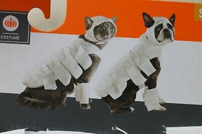 Cat Halloween Costumes Target (Target Mummy Dog Cat Pet Halloween  Costume XS  S )
