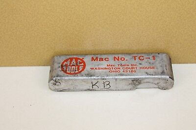 Mac Tools Torch Tip Cleaner Tc-1 Tc1 Owners Markings