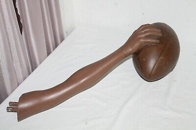 Vintage Mannequin Arm And Hand With Football