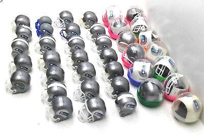 35 pc Seattle Seahawks Mini Football Helmet NFL Plastic Gumball Party Favors     (Mini Football Helmets Party Favors)