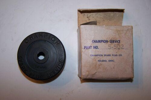 Vintage Champion Spark Plug Service Plug Cleaner Adapter 14MM P/N 5-502