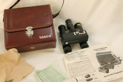Vintage Tasco bino/cam Binocular  telephoto camera , model 8000 7x20mm Minty