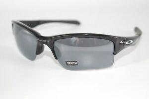 Oakley Quarter Jacket YOUTH Sunglasses OO9200-01 Polished Black W/Black Iridium