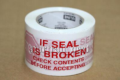 Uline 110 Yards X 3 2.2mil Heavy Duty Waterproof Security Packaging Tape Poly
