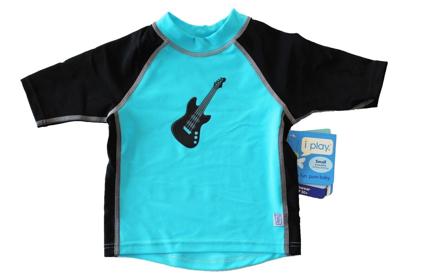 NEW Iplay I Play Baby Boy's Swim Swimming Shirt Rashguard 6M