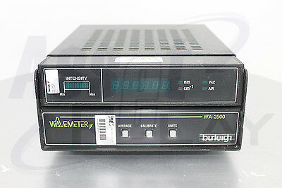 Burleigh Wa-2500 Wavelength Meter Visir 400 - 1800nm Wavemeter